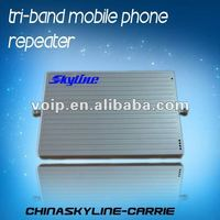 triband signal booster wcdma 3g mobile signal amplifier
