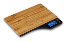 digital weighing bamboo scales for kitchen