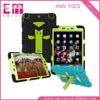 For iPad mini Shockproof Defender case for iPad mini 2 3 4