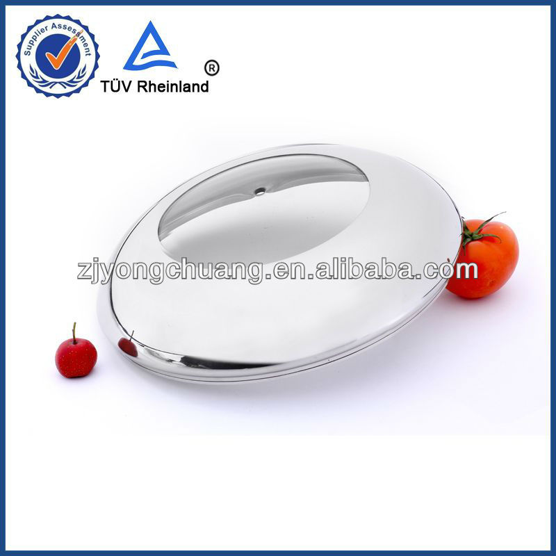 yongkang cookware parts glass lids with knob