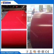 china shandong manufacture prepainted steel coil, color coated galvanized steel coil, PPGI for air conditioner
