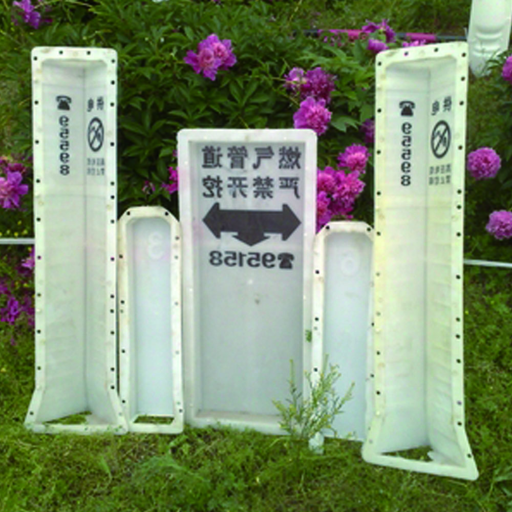 plastic signboards mould for road sign