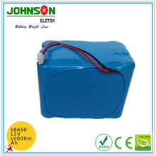 Rechargeable lithium 18650 li-ion battery pack 3.7v 8000mah with PCM