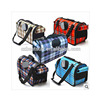Wholesale three sizes of foldable pet carrier bag with curtain