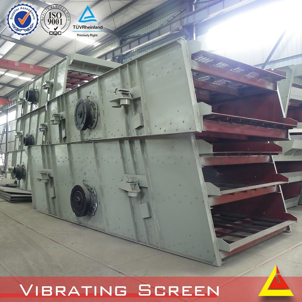 3YKR-1236 30-100t/h dewatering screen for separating different size material