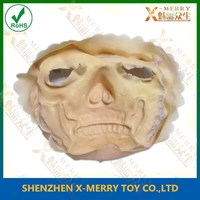X-MERRY Realistic scar mask ghost make up for halloween & movie fake cut decoration