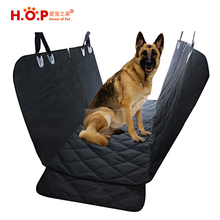2018 Amazon Hot Products Durable 600D Oxford Waterproof Rear Hammock Pet Dog Car Seat Cover With Side Flaps