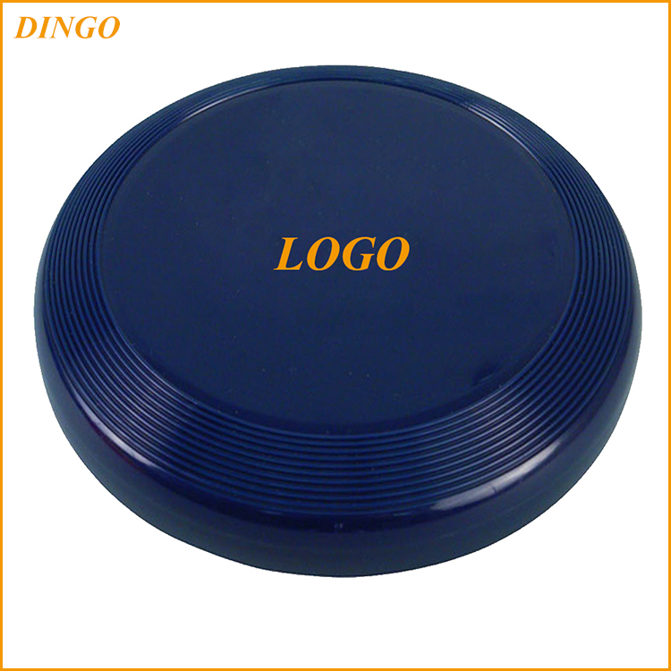 23 CM diameter Dog toys plastic frisbee with custom printing for promotion