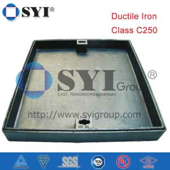 C250 Square Clear Opening 300/400/500/600 Recessed Manhole Cover