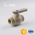 Ball valve with coupling ppr ball valve