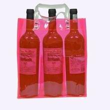 promotional christmas collapsible ice coller wine beer tote bag