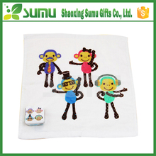 Promotional disposable compress hand cotton towel cartoon
