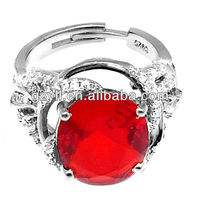 Best Quality 925 sterling silver jewelry fashion bow ring