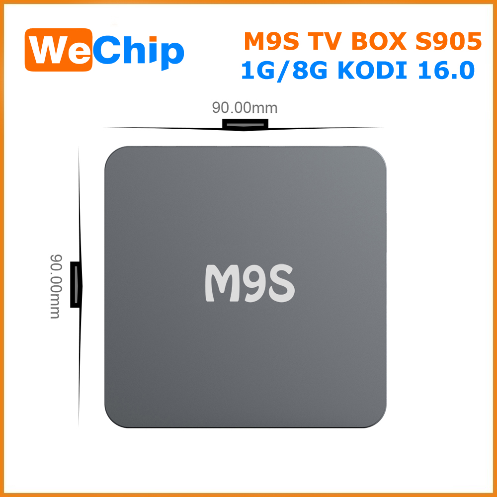 Cheapest M9S 4K full hd 1080p porn video tv box kodi facebook Android 5.1 tv box bluetooth 4.0 Ott tv Box made in China