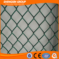 Life time Strong Customizability Galvanized Chain Link Fence