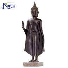 2018 perfect standing large bronze buddha statue for decor NTBS-349Y