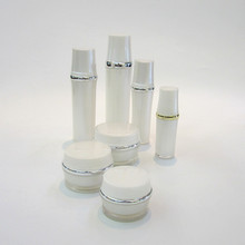 high quality cosmetic plastic jar and bottle face mask jar bottle 50g30g15g
