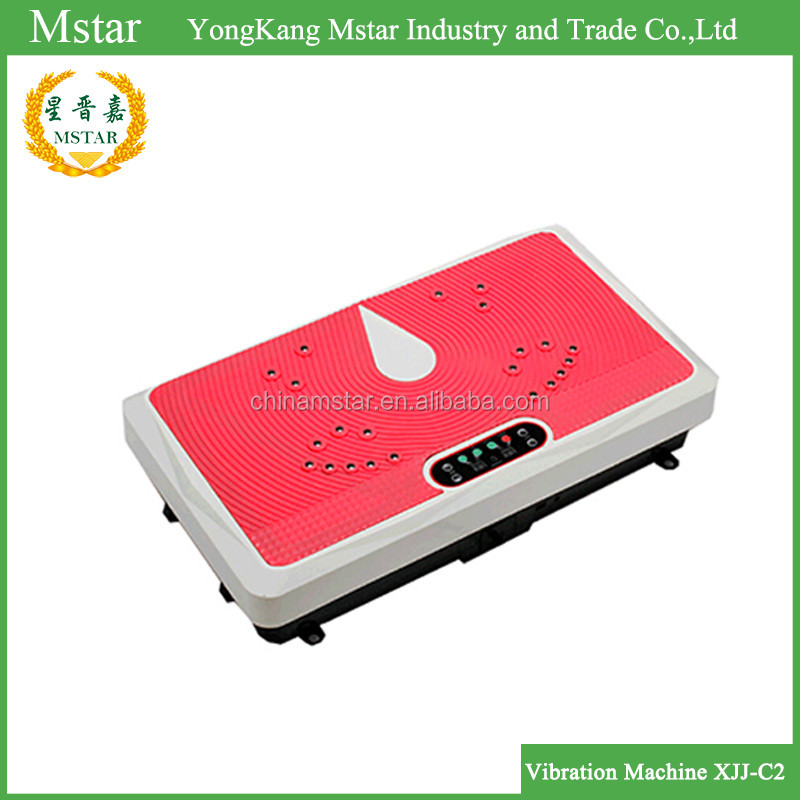 Chinese Gold Suppliers Top Quality Vibration Machine Crazy Fit Massage Manual