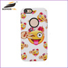 [somostel]Personalized unique emoji design pc printing lovely emoji phone case for Apple Iphone 6 Case