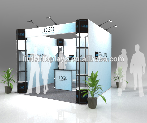 industrial modular trade show booth design ideas for shopping mall - Booth Design Ideas