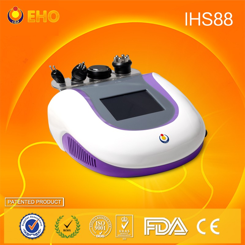 Manufacturer Multipolar RF Cavitation Body Shaping machine IHS88 Vacuum ultrasound weight loss machine for home/salon use in UK