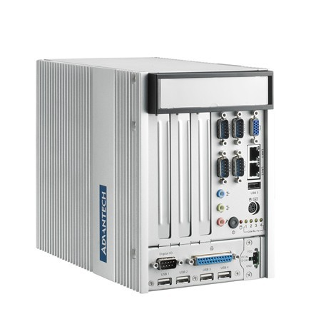 Fanless Embedded Box PC industrial computer ARK-5260F-D5A1E with Dual PCI/PCIe Expansion and Dual Mobile HDDs