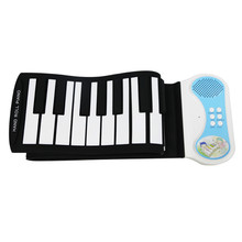 elegance portable roll up piano with 49keys,USB musical instrument, electronical soft mini piano keyboard musical baby toy