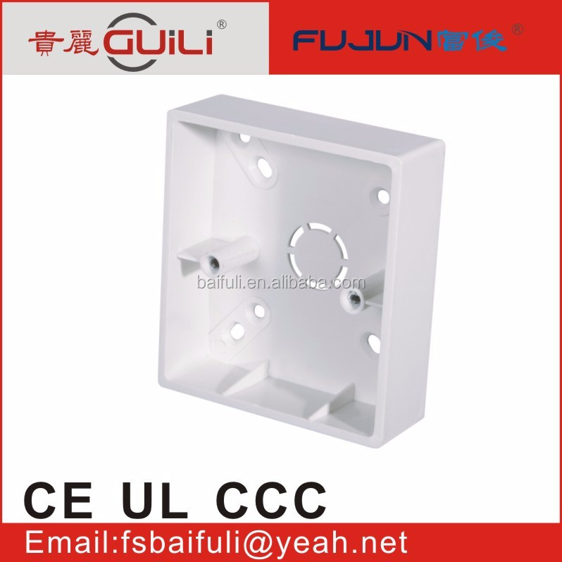 popular control switch box plastic junction box electrical conduit box