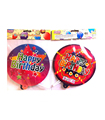 2017 high quality custom plastic birthday balloon