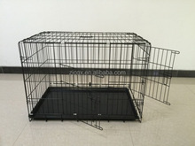 China supplier Wholesale Metal Dog Cage Folding Pet Dog Cage Stainless Steel Pet Cage dogs application dog aluminum cage