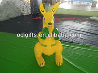 vinyl inflatable air kangaroo with customized