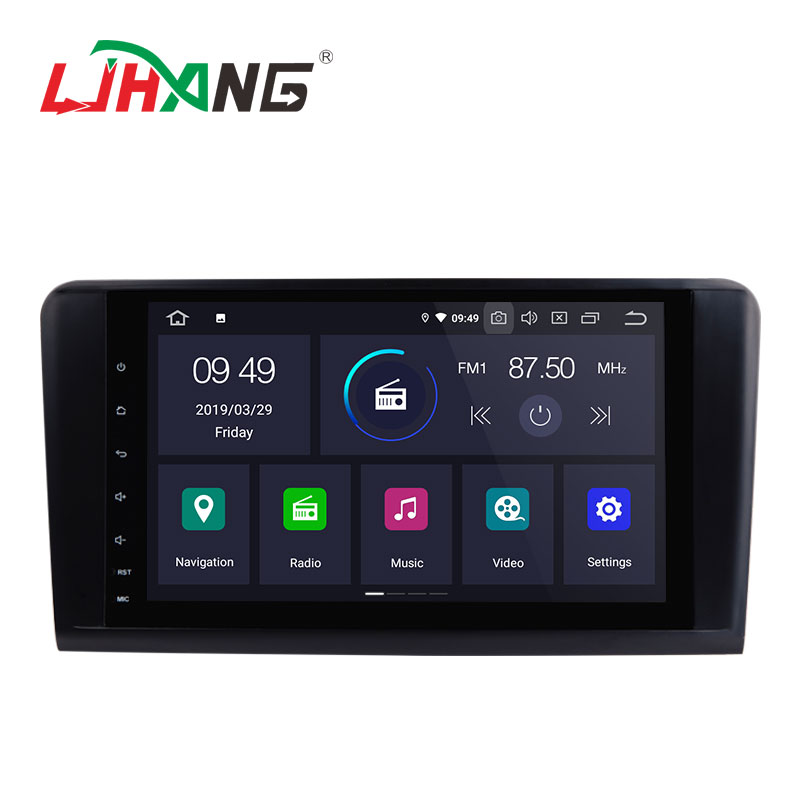 LJHANG 9inch Android 9.0 2+16G car radio <strong>dvd</strong> player for Mercedes Benz ML350 ML320 <strong>W164</strong>