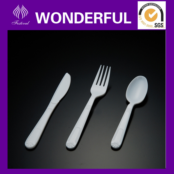High quality disposable plastic tableware utensils