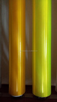 Gold /grey / greenyellow Colored PVC film