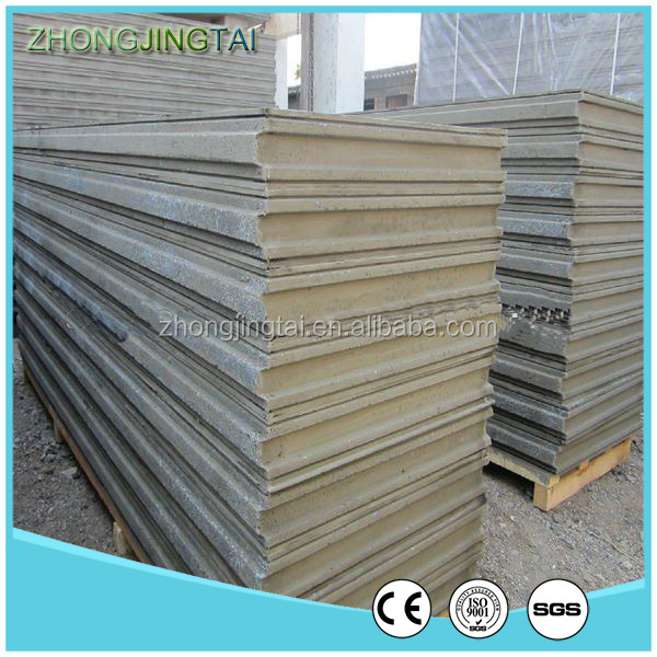 Lightweight energy saving fiber cement EPS sandwich panel for prefab house
