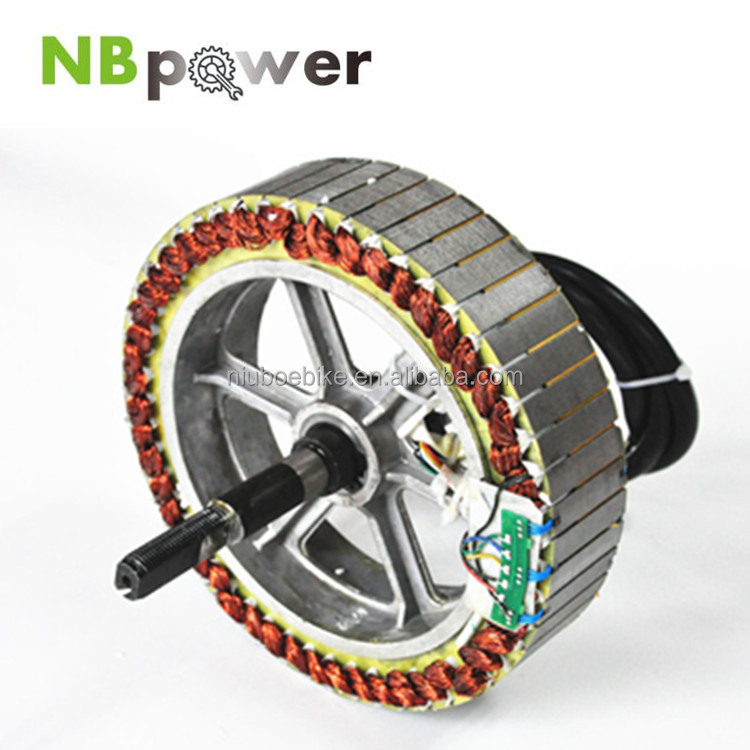 Alibaba NBpower 48V 500W 750W 1000W Brushless Hub Motor/ebike conversion kit