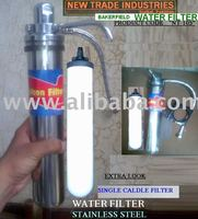 "STAINLESS STEEL WATER FILTER for Drinking Water. ""Non Magnet"" (NT-105)"