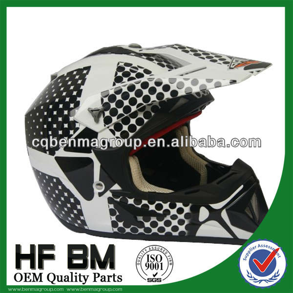 cross-country helmets with dot printing