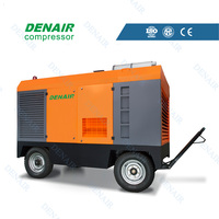 Diesel portable air compressor 260cfm price