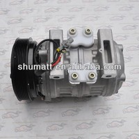 Denso 10P30C Compressor 7PK 7 Pulley Clutch Without Connector Cover for 24V To yota Coaster Bus