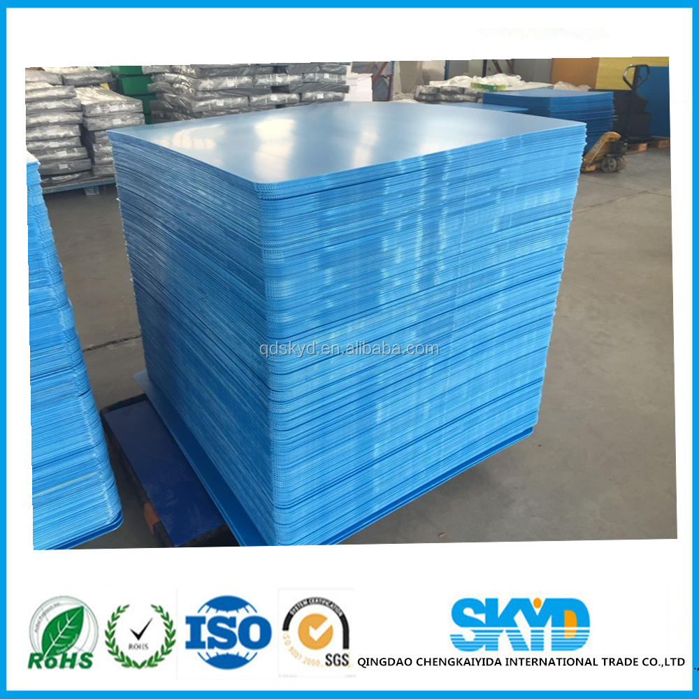 colors PP hollow sheets/pp corrugated plastic board