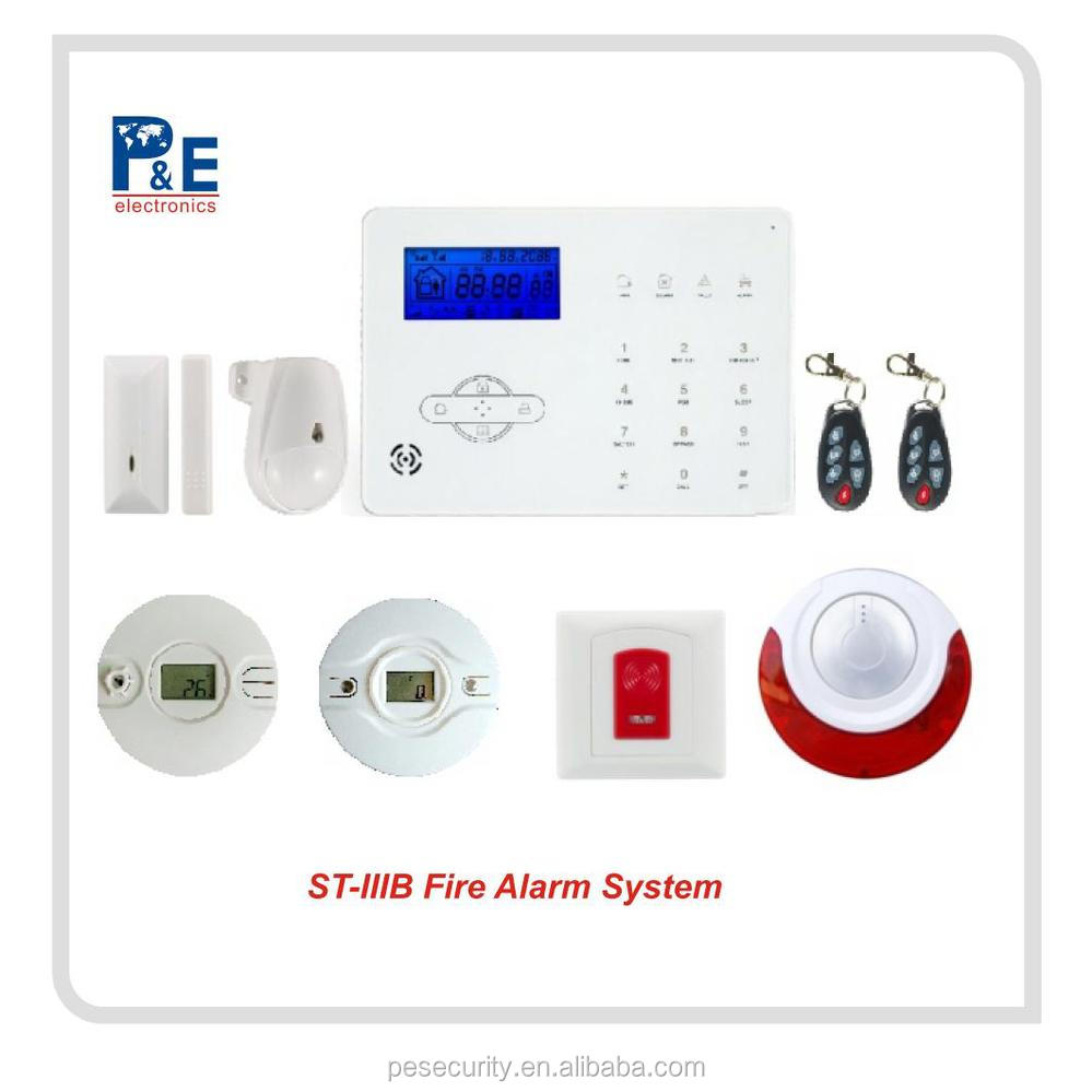 New technology alarm systems and IP cam in one App perimeter security system