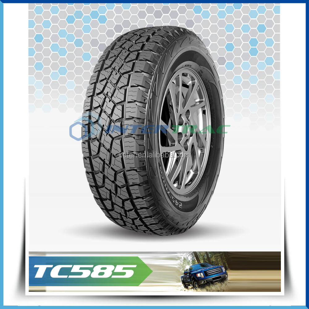 all terrain jeep cool car tire Intertrac brand TC585 31*10.50R15LT AT tire