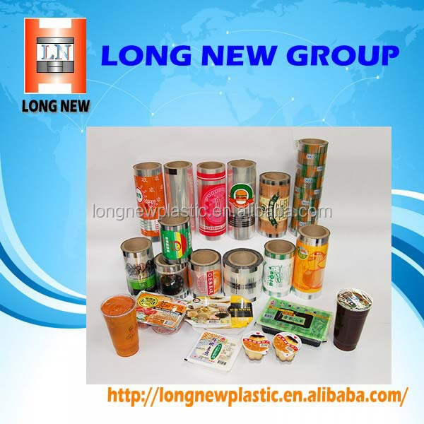 Customized Private Logo Printing Cup Seaing Plastic Film