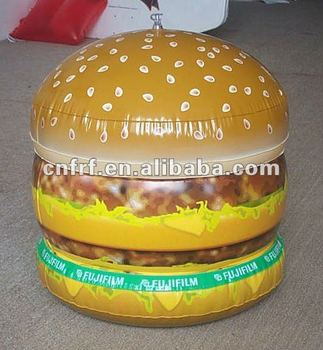 inflatable hamburger model