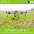 New design agricultural sprayer drone for plant protection with electrostatic nozzles