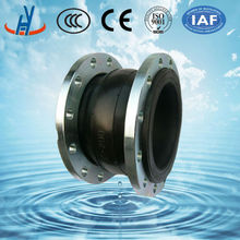 JGD flexible Rubber Expansion Joint for pipe line Rubber joint with flange