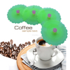 6pcs Customized Food Grade Colorful Silicone Cup Lid Cover
