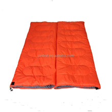 Double couple sleeping bag winter minus widened thickening envelope sleeping bag to increase