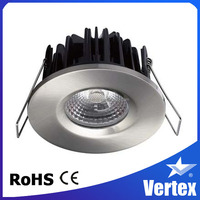 8W COB LED downlight, recessed ceiling light, Dimmable driver, warm color temperature